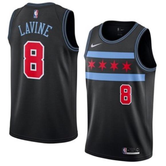 the best attitude 970d7 6ba58 Zach Lavine Chicago Bulls City Edition Jersey Boutique